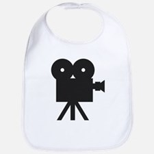 black cine camera hollywood Bib