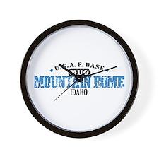 Mountain Home Air Force Base Wall Clock