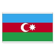 Azerbaijan Rectangle Decal