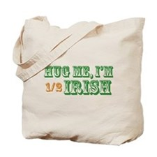 Hug Me Half Irish Tote Bag