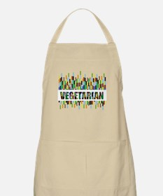 Colorful Vegetarian BBQ Apron