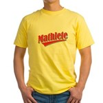Mathlete Yellow T-Shirt