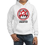 I Don't Wanna Grow Up Hooded Sweatshirt
