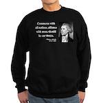 Thomas Jefferson 10 Sweatshirt (dark)