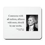 Thomas Jefferson 10 Mousepad