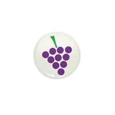 winery grapes Mini Button (100 pack)