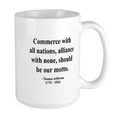 Thomas Jefferson 10 Large Mug