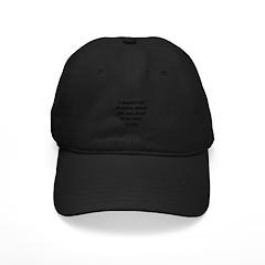Thomas Jefferson 10 Baseball Hat