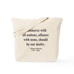 Thomas Jefferson 10 Tote Bag