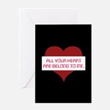 All Your Heart Greeting Card