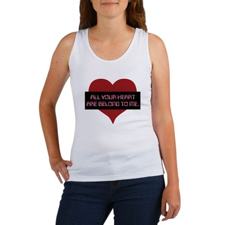 All Your Heart Women's Tank Top