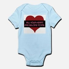 All Your Heart Infant Bodysuit