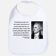 Thomas Jefferson 14 Bib