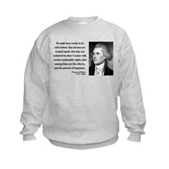 Thomas Jefferson 14 Sweatshirt