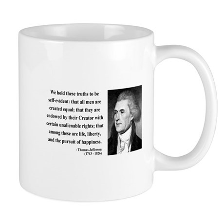 Thomas Jefferson 14 Mug