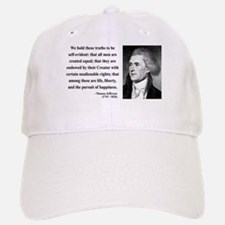 Thomas Jefferson 14 Baseball Baseball Cap