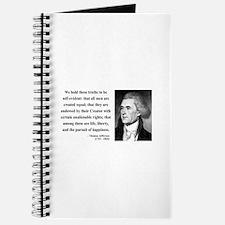 Thomas Jefferson 14 Journal