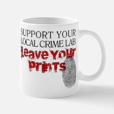 Crime Lab - Leave Your Prints Mug