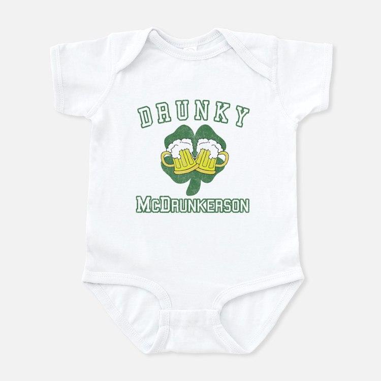 Drunky McDrunkerson Infant Bodysuit