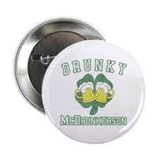 """Drunky McDrunkerson 2.25"""" Button"""