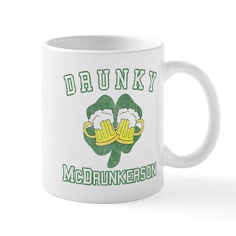Drunky McDrunkerson Mug