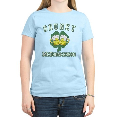 Drunky McDrunkerson Women's Light T-Shirt