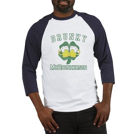 Drunky McDrunkerson Baseball Jersey