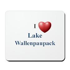 I heart Lake Wallenpaupack Mousepad