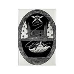 Thumbelina Rectangle Magnet (10 pack)
