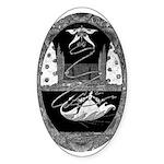 Thumbelina Oval Sticker (50 pk)