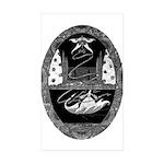 Thumbelina Rectangle Sticker 50 pk)