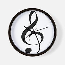 Musicality Wall Clock