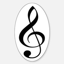 Musicality Oval Decal