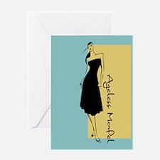 Ageless Model Greeting Card
