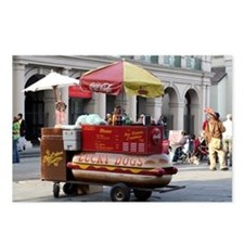 Cute Street vendor Postcards (Package of 8)