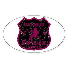 Psych Major Diva League Oval Decal