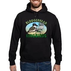 Bloggerhead (lg img) Hoodie (dark)