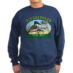 Bloggerhead (lg img) Sweatshirt (dark)