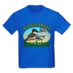 Bloggerhead (lg img) Kids Dark T-Shirt