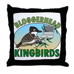 Bloggerhead (lg img) Throw Pillow