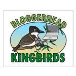 Bloggerhead (lg img) Small Poster