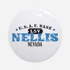Nellis Air Force Base Ornament (Round)