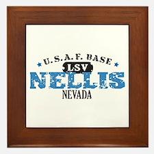 Nellis Air Force Base Framed Tile