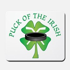 Puck of the Irish Mousepad