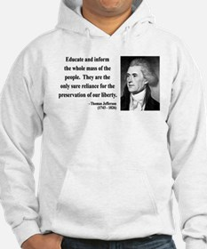 Thomas Jefferson 22 Jumper Hoody