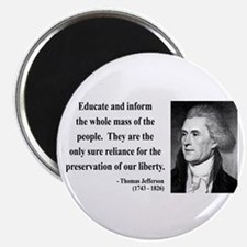 Thomas Jefferson 22 Magnet