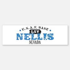 Nellis Air Force Base Bumper Bumper Sticker