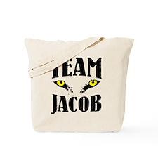 "Wolf Eyes ""Team Jacob"" Tote Bag"
