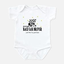 Race Car Driver Like Grandpa Baby Infant Bodysuit
