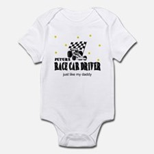 Future Race Car Driver like Daddy Infant Bodysuit